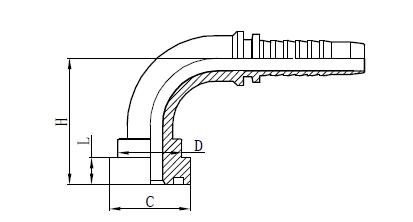 4SH slangemontage montering Tegning