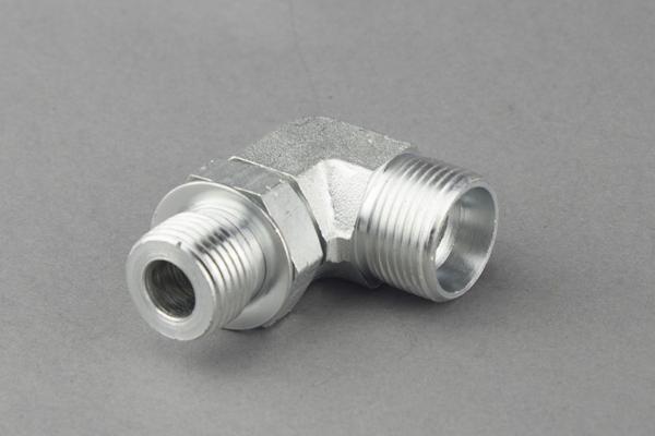 Elbow hydrauliske adaptere