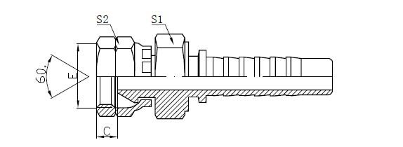 Lavtryksslangemontering