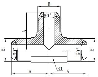 Vinder Standard AK Monterings tegning